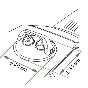 dimensions du porte-skis