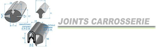 JOINTS CARROSSERIE