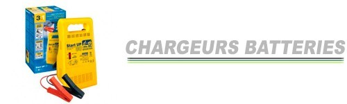 Chargeurs batteries