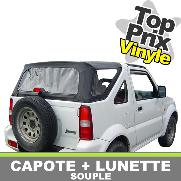 capote jimny vinyle 4x4 suzuki. Black Bedroom Furniture Sets. Home Design Ideas
