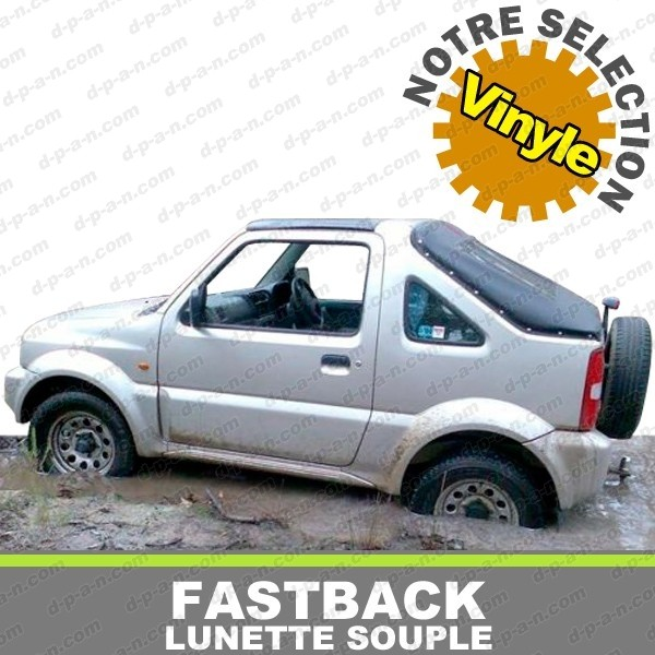 capote fastback 4x4 suzuki jimny en vinyle. Black Bedroom Furniture Sets. Home Design Ideas