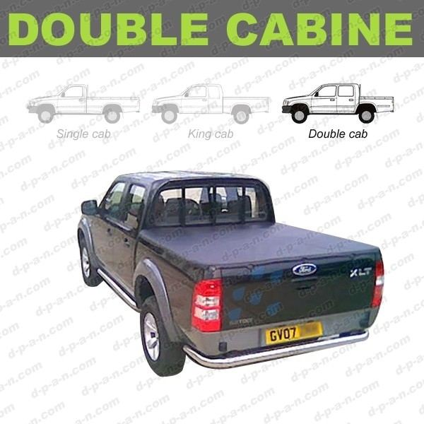 couvre benne couvre tonneau ford ranger pick up double. Black Bedroom Furniture Sets. Home Design Ideas