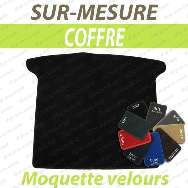 tapis auto sur mesure voiture peugeot 304 cabriolet tapis de coffre en moquette velours. Black Bedroom Furniture Sets. Home Design Ideas
