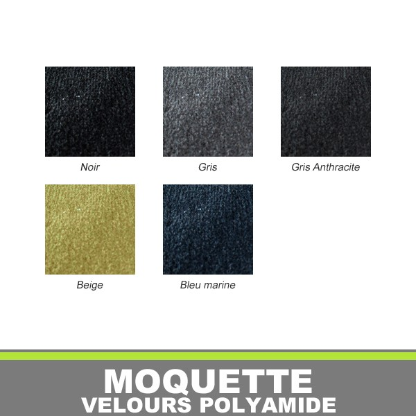moquette velours polyamide pour automobiles. Black Bedroom Furniture Sets. Home Design Ideas