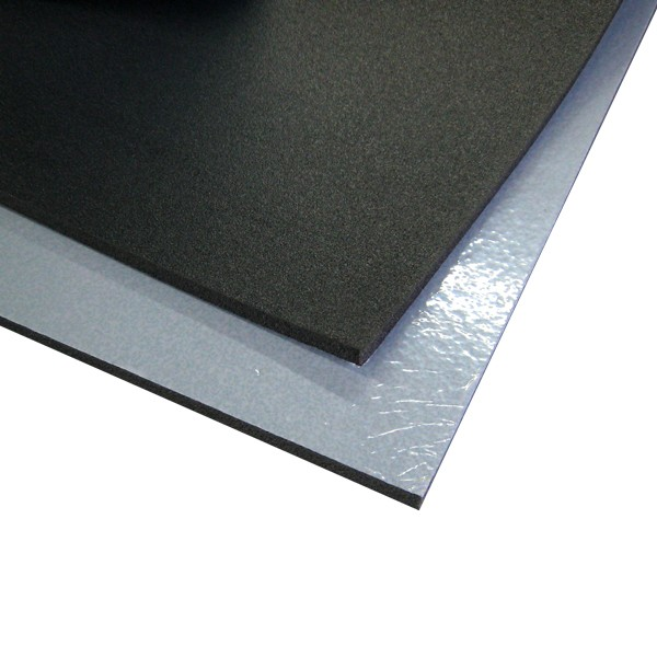 Insonorisant en mousse polyethylene en plaque adhesive for Plaque inox adhesive