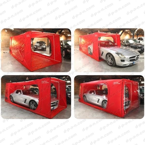garage portatif gonflable interieur a armature carcoon veloce. Black Bedroom Furniture Sets. Home Design Ideas