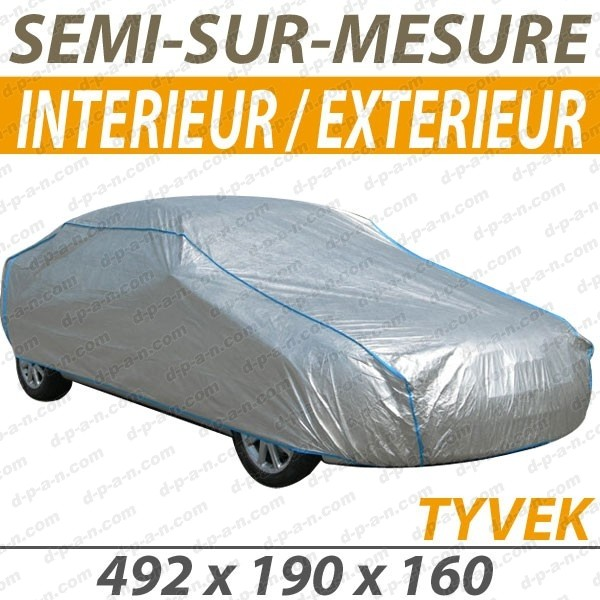 bache voiture peugeot 3008 housse protection auto semi sur mesure interieure exterieure tyvek. Black Bedroom Furniture Sets. Home Design Ideas